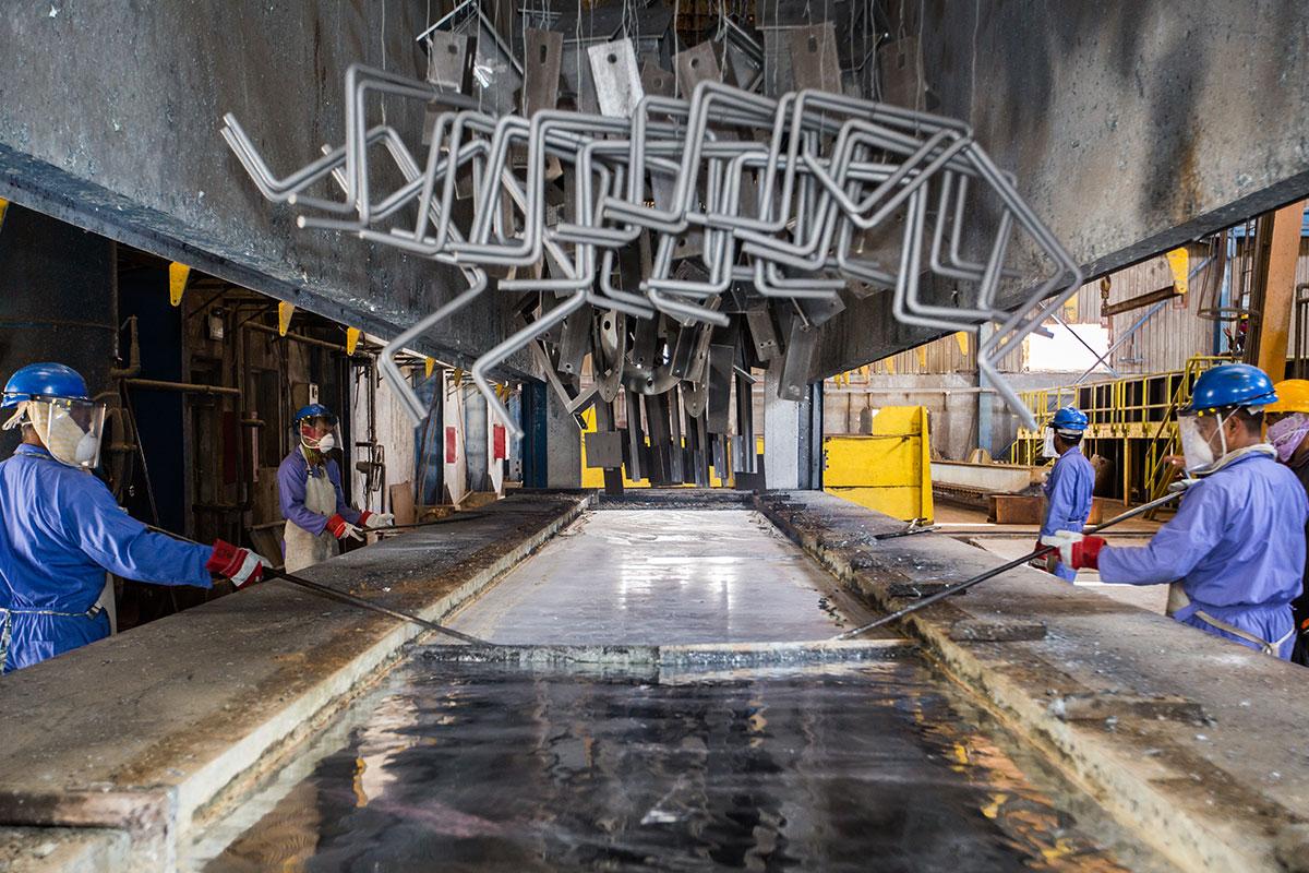 Qatar Galvanizing Company W L L  – Al Mana Group