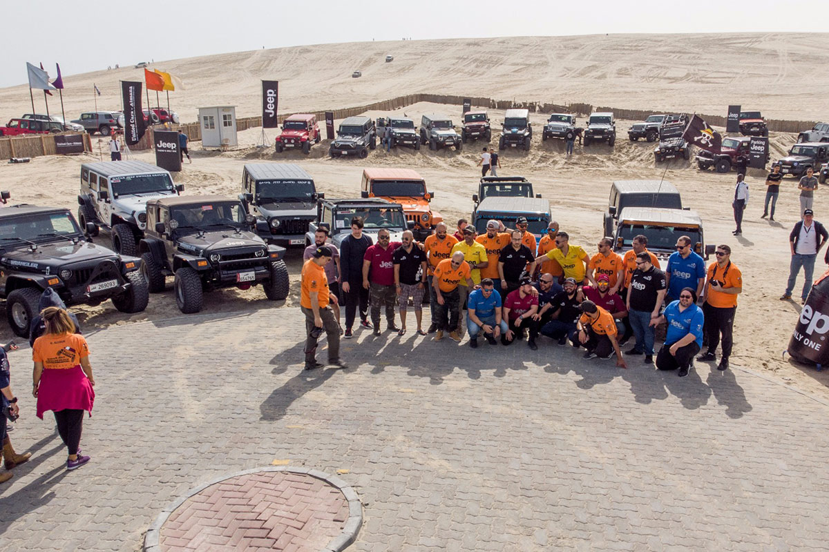 Jeep Middle East and United Cars Almana Launch Wrangler JL in Qatar